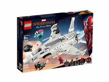 Lego Marvel Spider-Man Starks Jet y de la Drohnenangriff 76130