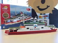 Red Funnel Isle of Wight Ferry Cobi Construction Model