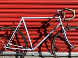 Univega touring bike-packing gravel Road Bike Large 58cm 59cm 60cm Tange steel
