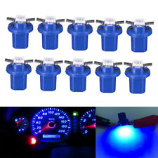 10Pcs T5 B8.5D 5050 1SMD LED Dashboard Dash Gauge Instrument Light Bulbs Lamps