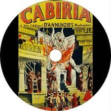 Cabiria (1914) Adventure, Drama, History Movie / Film (Dvd)