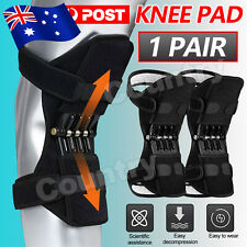 2PCS Power Spring Knee Pads brace Leg Support Rebound Lift Stabilizer Joint New