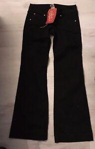 True Religion Women's black diamante Denim Jeans Ladies disco candice size 27