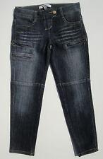 DKNY NWT Girls Denim Capri Ankle Jeans Pants DGH17507 Jackie 60 Downtown Wash 8