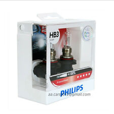 Genuine Philips HB3 9005 X-treme xtreme extreme Vision +100% +35m beam bulbs