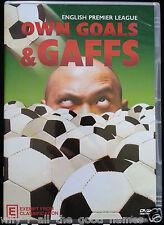 English Premier League OWN GOALS & GAFFS - EPL Football Soccer DVD