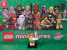 DINER WAITRESS Series 11 LEGO Minifigures (71002) FREE Checklist Included