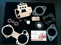 2 x kit revisione carburatore Dellorto DHLA40 alfa 2 pz kit repair carburator*