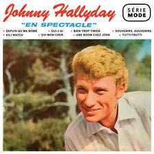 CD Johnny Hallyday : En spectacle / Serie Mode