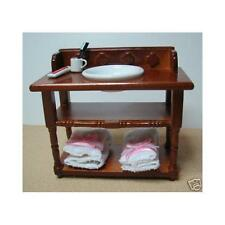 More details for 1/12th scale dolls house washstand & accessories df908