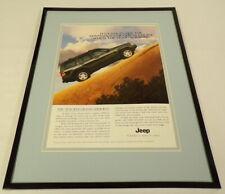 1996 Jeep Grand Cherokee Framed 11x14 ORIGINAL Advertisement
