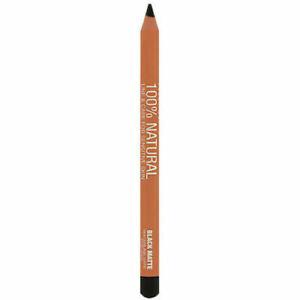 Prestige Cosmetics 100% Natural Line & Care Eyeliner Black Matte .04 Oz Sealed