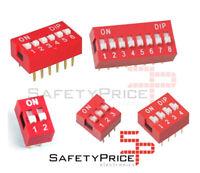 x3 Interruptor Dip Switch 2 3 4 6 8 posiciones 2p 3p 4p 6p 8p ON OFF 2.54mm SP