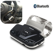 Wireless Bluetooth Steering Wheel Handsfree Car Speaker Phone Kit For Cell Phone