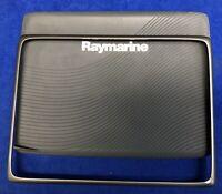 Raymarine a125 a127 a128 Suncover Screen Sun Cover & Gunmetal Facia Trim Bezel