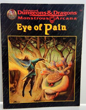Adv. Dungeons/Dragons Monstrous Arcana-EYE OF PAIN Campaign-Levels 4-8