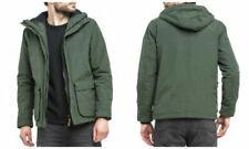 Cappotti e giacche da uomo con cappuccio verde Lee