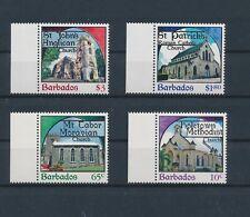 LM11505 Barbados church art religion fine lot MNH