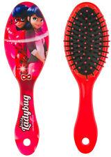 MIRACULOUS LADYBUG GIRLS PLASTIC HAIR HANDLE CUSHIONED OVAL BRUSH COMB 18cm