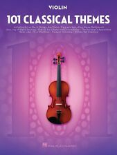 101 Classical Themes for Violin Instrumental Solo Book NEW 000155323