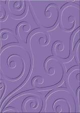 Embossing Folder Cart-Us For Cuttlebug Sizzix Big-Shot Machine Ornament Swirl