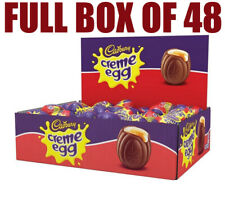Cadbury Cream Creme Eggs Box Of 48 Eggs In Stock for Immediate FREE Delivery