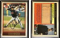 Chad Ogea Signed 1997 Topps #367 Card Cleveland Indians Auto Autograph