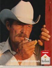 Marlboro Zigaretten - Reklame Werbeanzeige Original-Werbung 1982 (5)