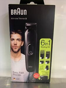 BRAUN Shaver/ 6in1 Styling Kit/ Professional Blade Tech./Germany