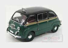 Fiat 600 Multipla Taxi Roma 1961 Green Black Miniminiera 1:18 MMT74311