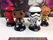 Funko Pop Star Wars Stormtrooper 75 Finn 59 Imperial Guard 57 Admiral Ackbar 81