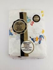 Vintage Pacific No-Iron Mickey Mouse & Friends Crib Fitted Sheet