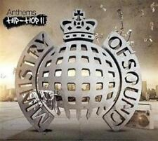 MINISTRY OF SOUND (ANTHEMS - HIP-HIP II - 3CD SET SEALED + FREE POST)