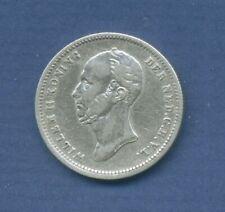 Niederlande 25 Cents 1848 König Wilhelm II, ss (m1521)