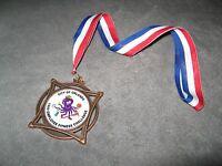 Orlando Florida USA 1999 City Employee Fitness Challenge Octopus Marathon Medal