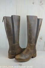 UGG VINSON STOUT LEATHER TALL RIDING BOOT REAR ZIPPER BOOTS WOMENS  US 11 NIB