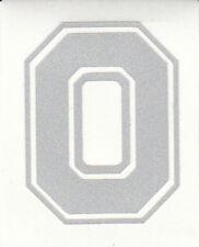 REFLECTIVE Ohio State Buckeyes Block O 2 inch fire helmet decal sticker osu