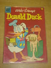 DONALD DUCK #57 VG/FN (5.0) DELL COMICS WALT DISNEY FEBRUARY 1958