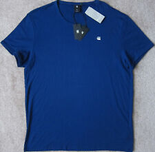 G-STAR RAW (Pacific/Blue) Logo T-shirt Men's NWT Size 2XL