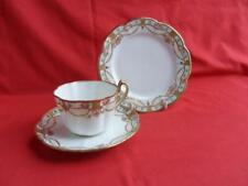 Noritake - Swags & Rosebud design, Tea Trio (Teacup, Saucer & Teaplate)