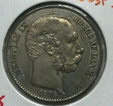 1878 Danish West Indies 20 Cents - Nice Condition