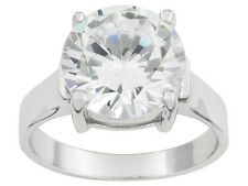 Bella Luce (R) 7.0ctw Rhodium Plated Sterling Silver Ring