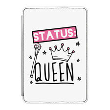 "Status: Queen Case Cover for Kindle 6"" E-reader - Funny Girly Girls"