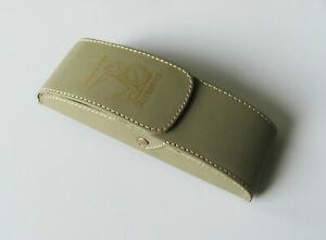 "Men's Glasses Case with Belt Clip, PU Leather Case for Glasses ""Hunter"""