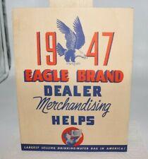 1947 Eagle Brand Dealer Merchandising Store Advertising