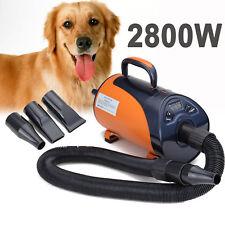 2800W Secador Calentador Dual Uso de Pelo LED Pantalla para Mascotas Perros Gato