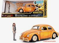 BUMBLEBEE & CHARLIE BEETLE HOLLYWOOD RIDES TRANSFORMERS 1/24 DIECAST & FIGURE