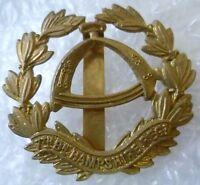 Badge- 7th Battalion Hampshire Regiment Cap Badge All BRASS (Slider*)