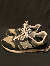 NEW BALANCE 565 Navy/Silver/White Suede ML565NV Men's Size 14 Running Shoes