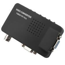 BNC S-Video To VGA Video Converter Adapter Composite 1080P HD PAL TV NTSC DVD PC